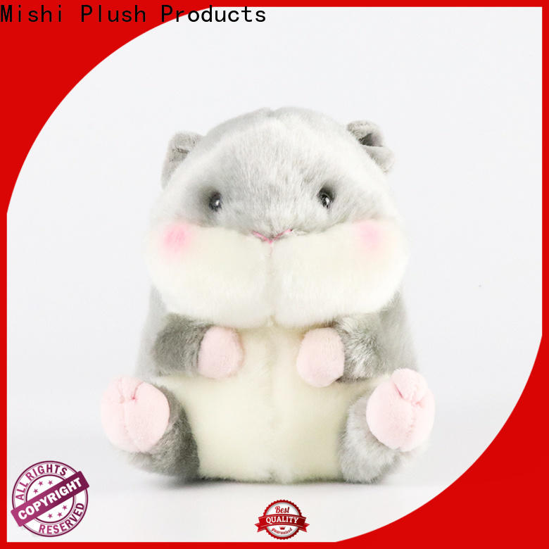 Mishi cute plush toys manufacturers for presents
