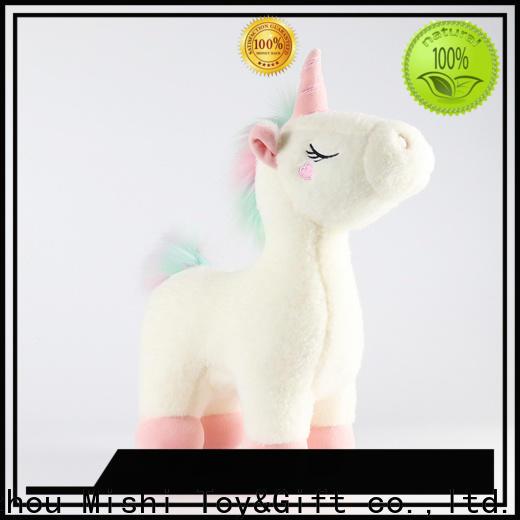 Mishi unique plush toys suppliers for presents
