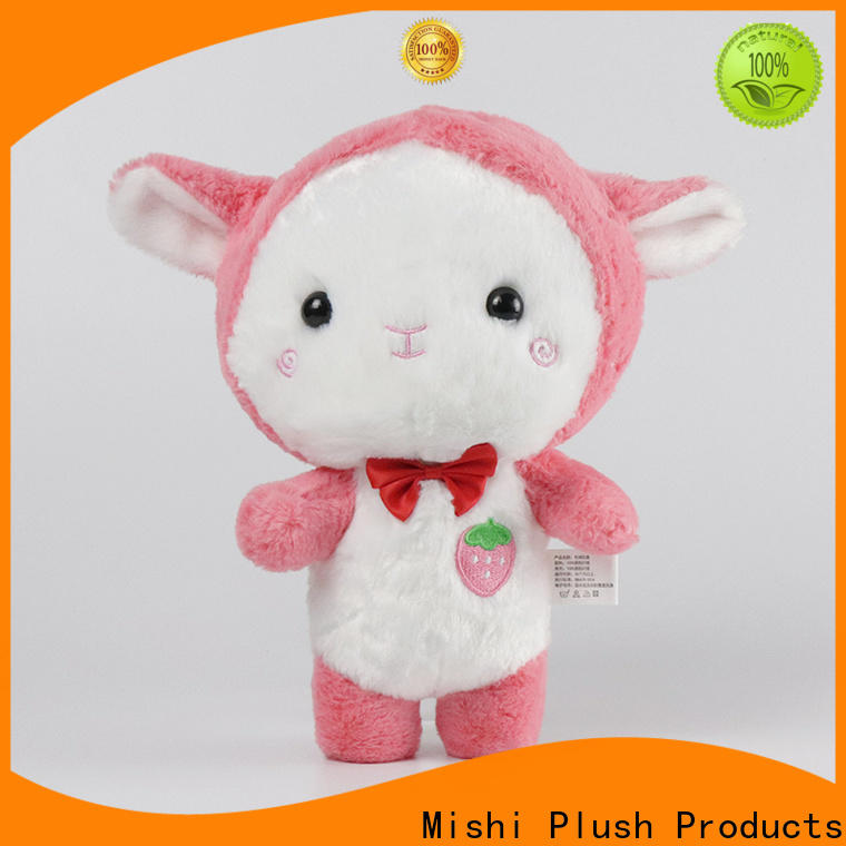 Mishi custom plush toy company for sale