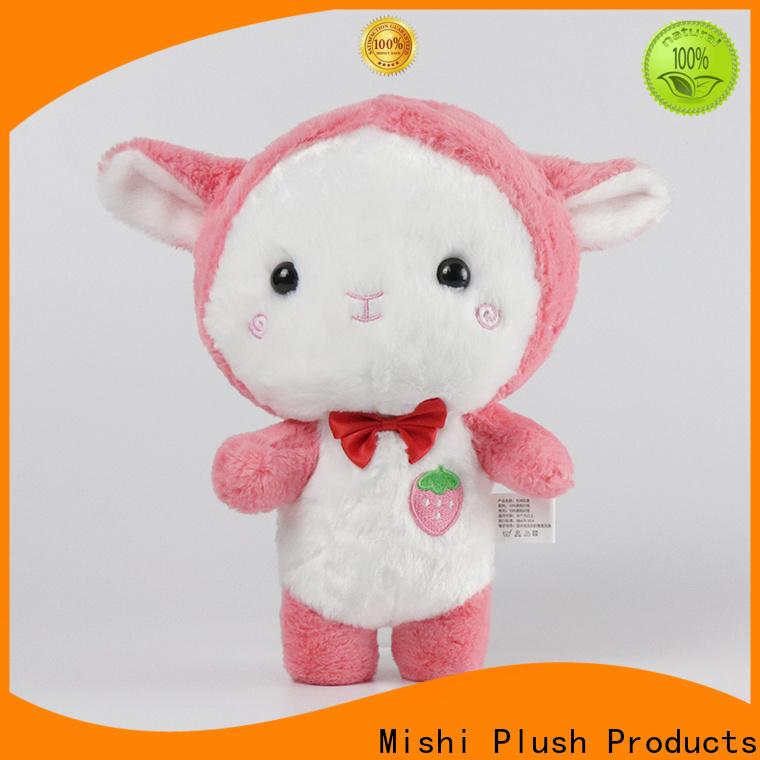 Mishi custom plush toy company for sale
