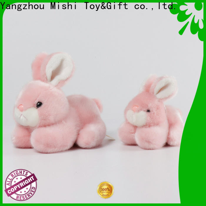 Mishi soft plush toys with custom logo for sale