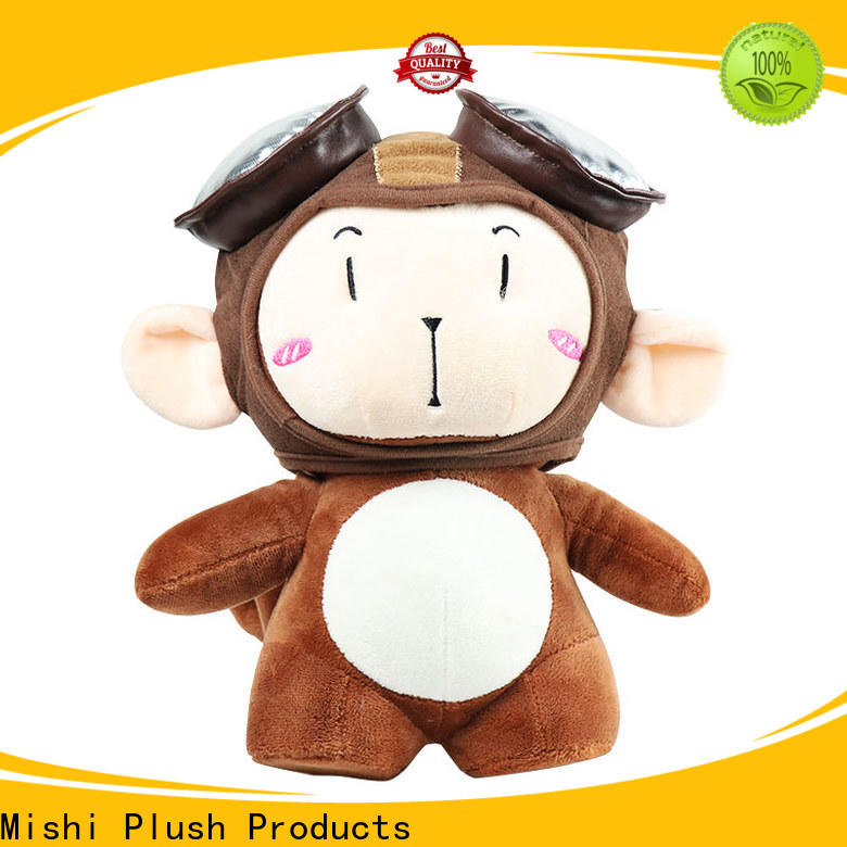 Mishi best funny plush toys with hoodies for gifts
