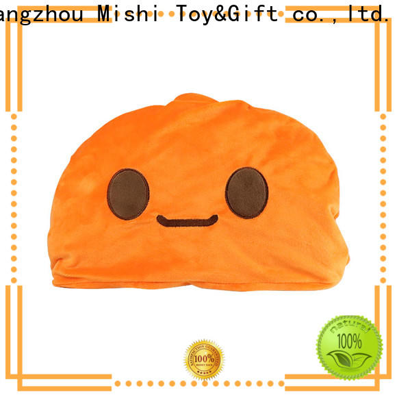 Mishi plush blanket wholesale with logo for gifts