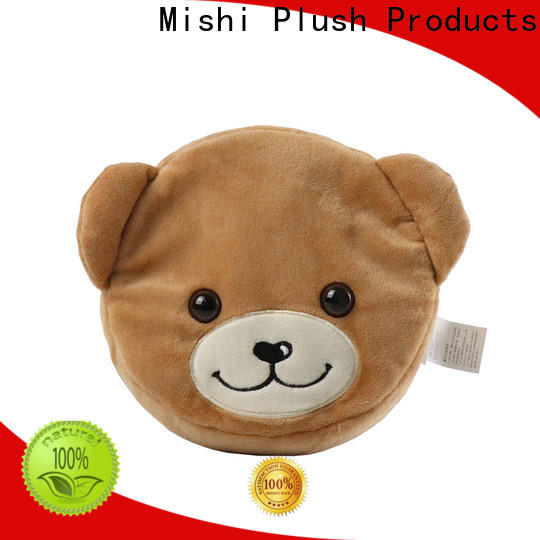 Mishi soft plush coin purse factory for business