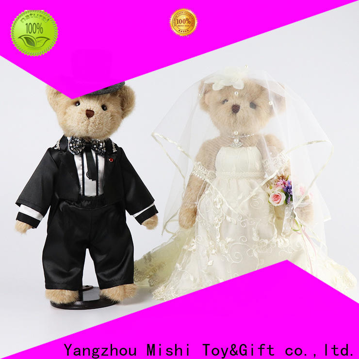 Mishi new soft plush toys with t shirts for business