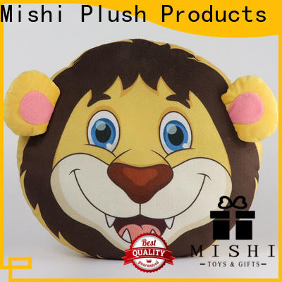 Mishi cartoon plush cushions supply for presents