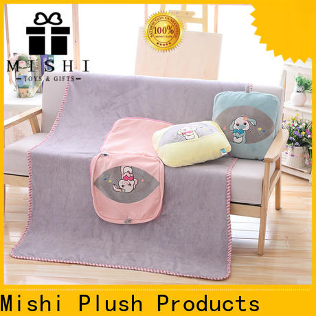 wholesale super plush blanket with printing logo for business
