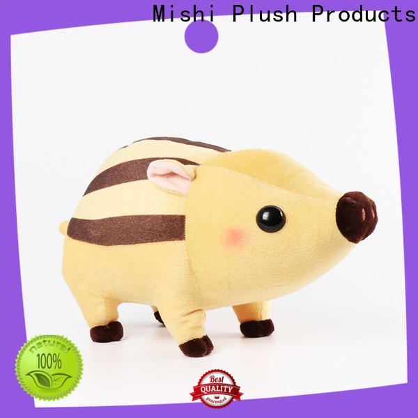 Mishi personalized plush toys suppliers for gifts
