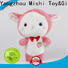 Mishi hippo custom plush toy with t shirts for sale