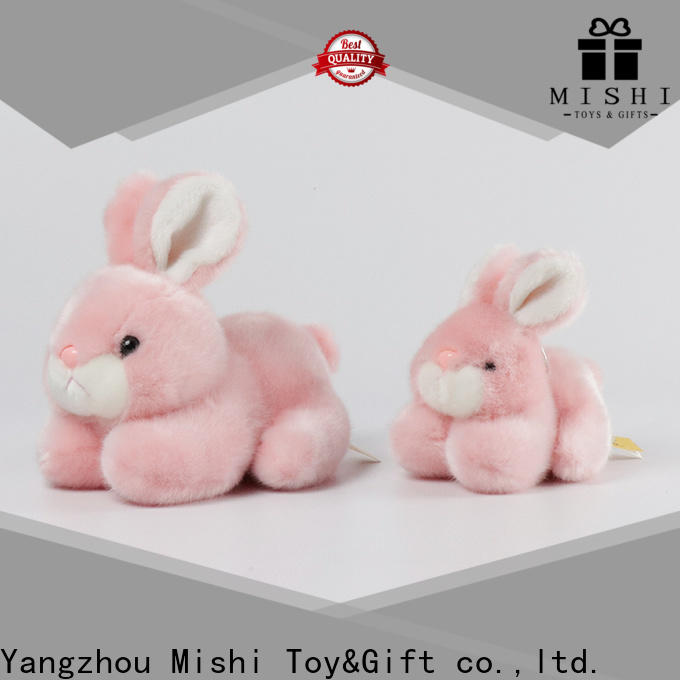 Mishi cute plush toys with hoodies for gifts