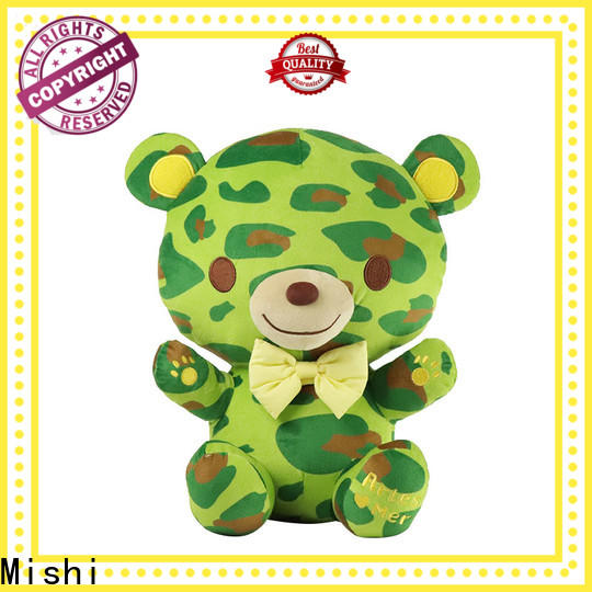 Mishi poodle funny plush toys factory for sale