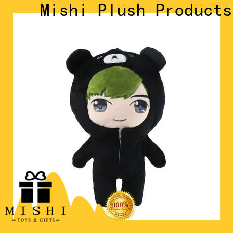 Mishi hippo personalized plush toys factory for sale