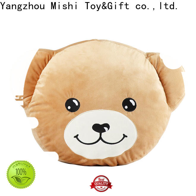 Mishi plush cushion factory for presents