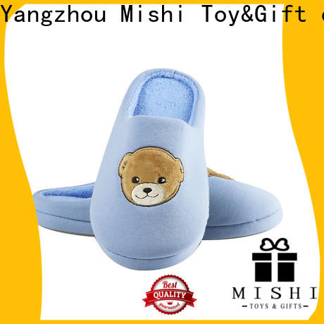 Mishi soft plush slippers manufacturers for gifts