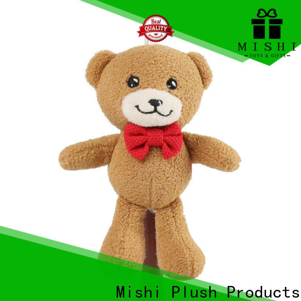 Mishi cute plush keychains company for gifts