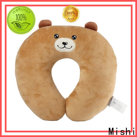 Mishi fluffy neck pillow factory for gifts