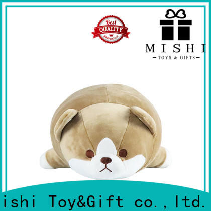 Mishi custom plush toy with t shirts for sale