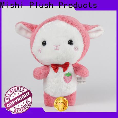 Mishi corgi personalized plush toys with custom logo for sale