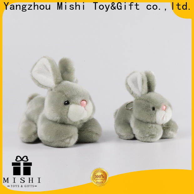 Mishi plush toy manufacturers with custom logo for presents