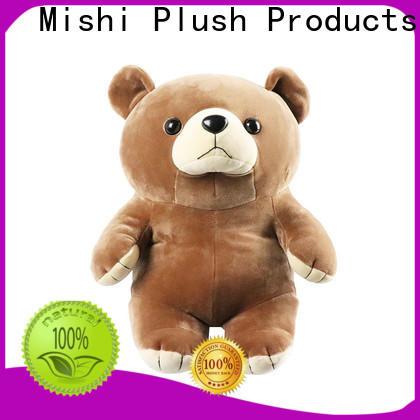 Mishi kangaroo cheap plush toys with custom logo for presents