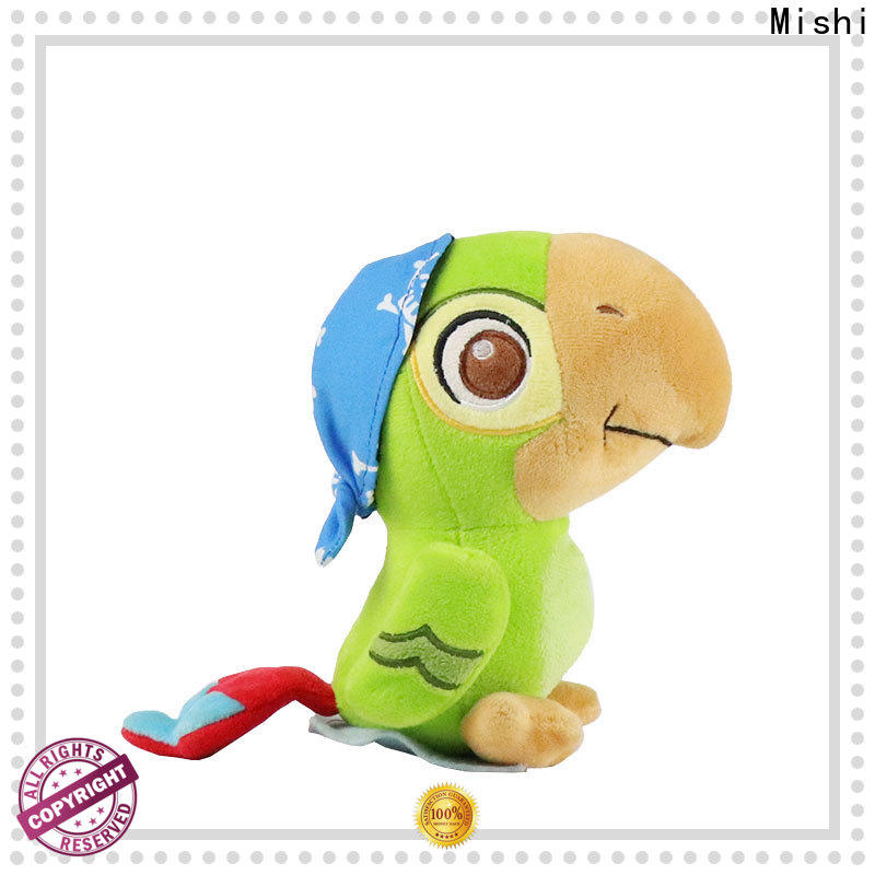 Mishi cute plush toys with custom logo for gifts