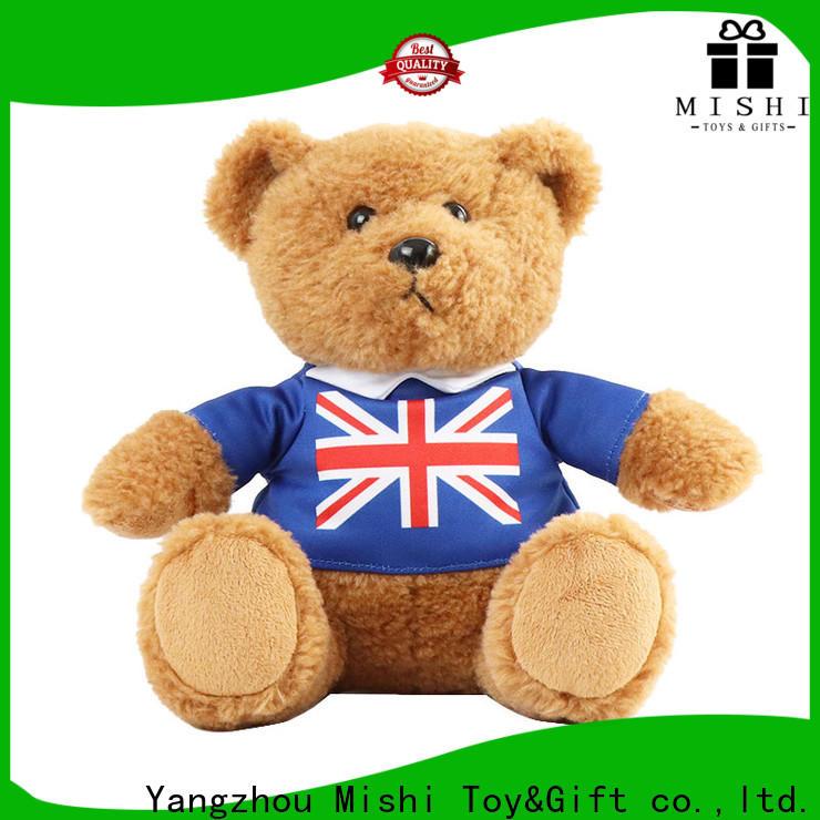 Mishi latest custom plush toys supply for sale