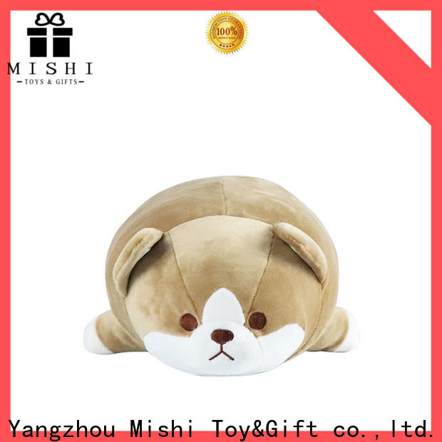 Mishi high-quality personalized plush toys with custom logo for sale