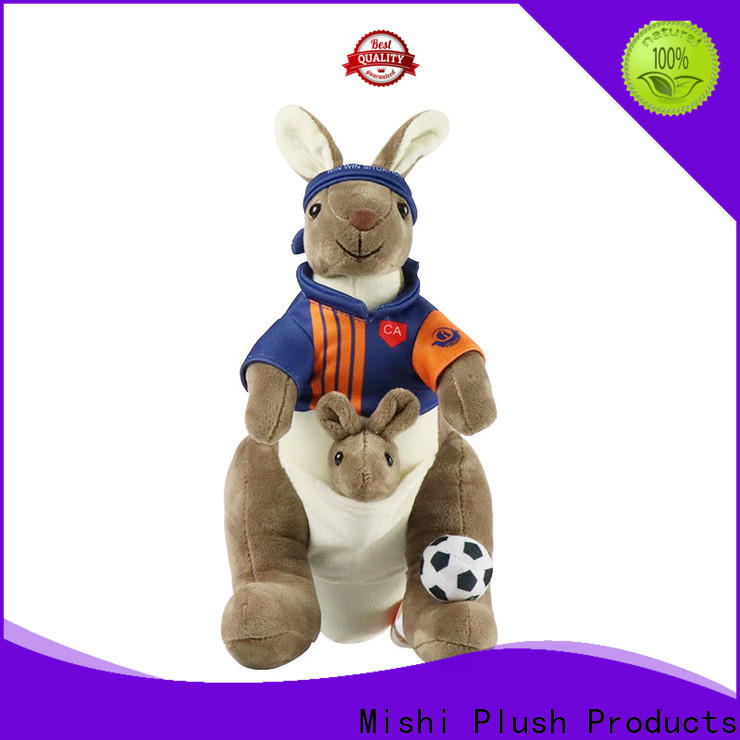 Mishi latest custom plush toy factory for presents