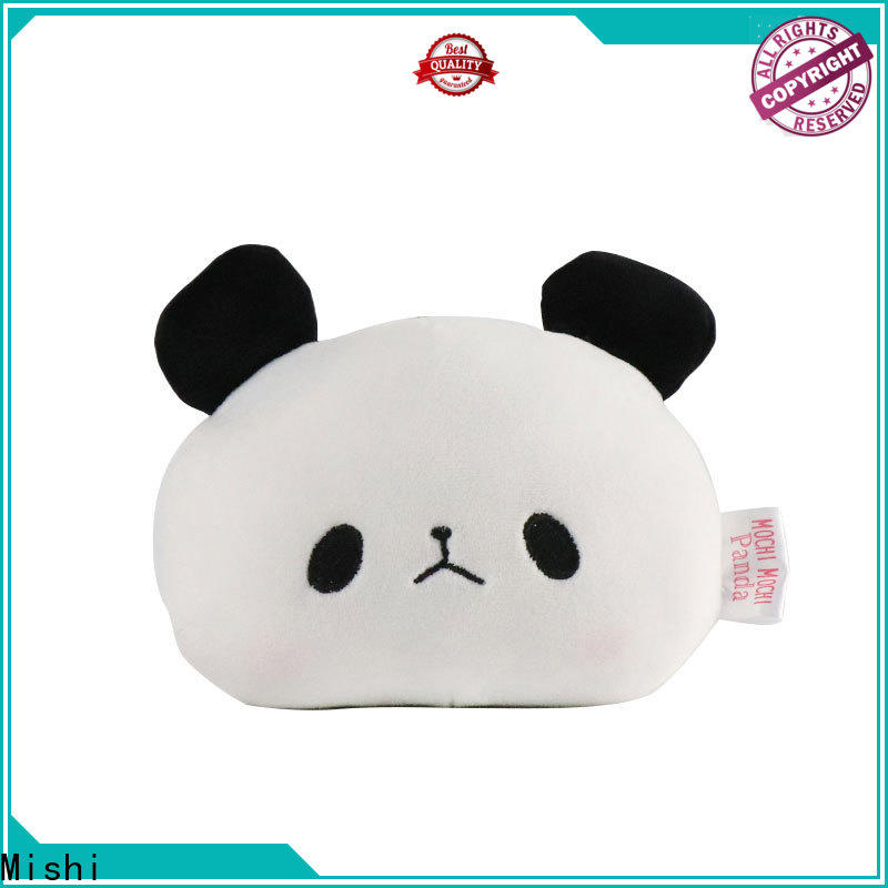 Mishi plush wallet with custom logo for sale