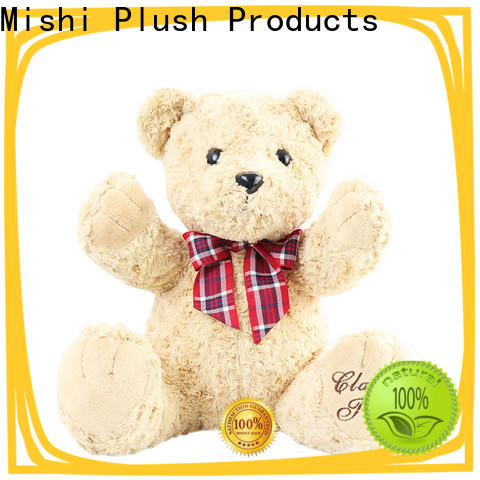 Mishi plush toy manufacturers supply for kids
