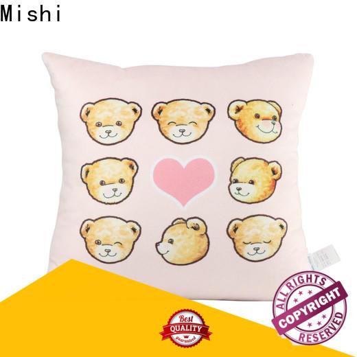 Mishi wholesale plush cushion supply for living room