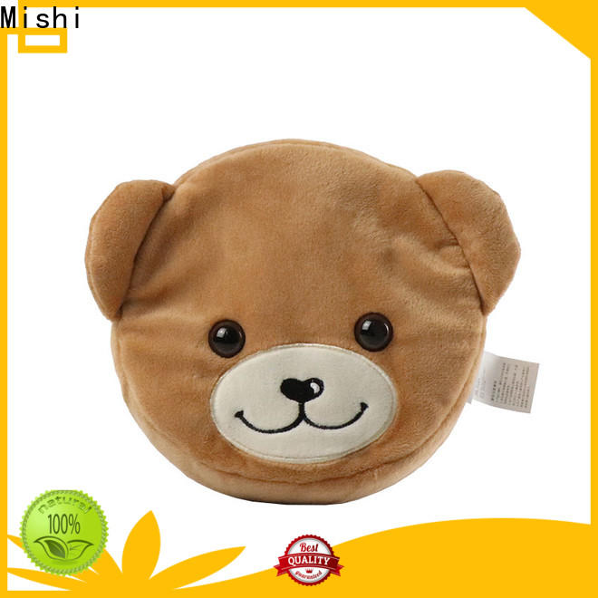 Mishi bear plush wallet factory for business
