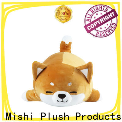 Mishi custom plush toys with hoodies for business