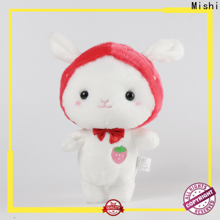Mishi best plush toy with custom logo for presents