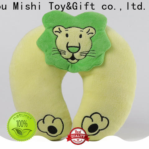 fast delivery plush neck pillow with custom printing for sleeping