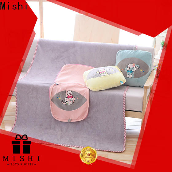 Mishi plush cushion covers factory for gifts