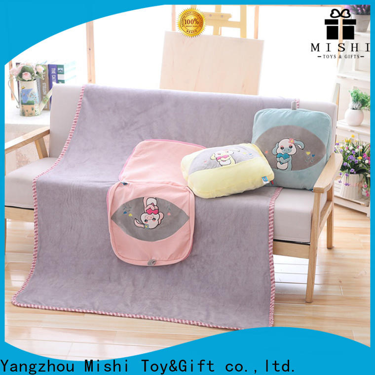 top custom plush blankets company for living room