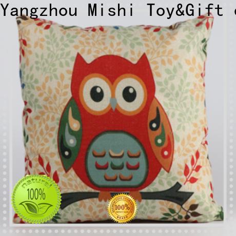 Mishi custom plush cushion factory for home