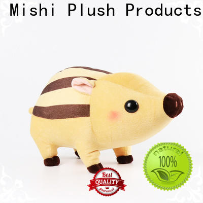 Mishi unique plush toys with t shirts for presents