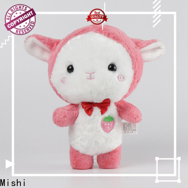 Mishi funny plush toys with hoodies for gifts