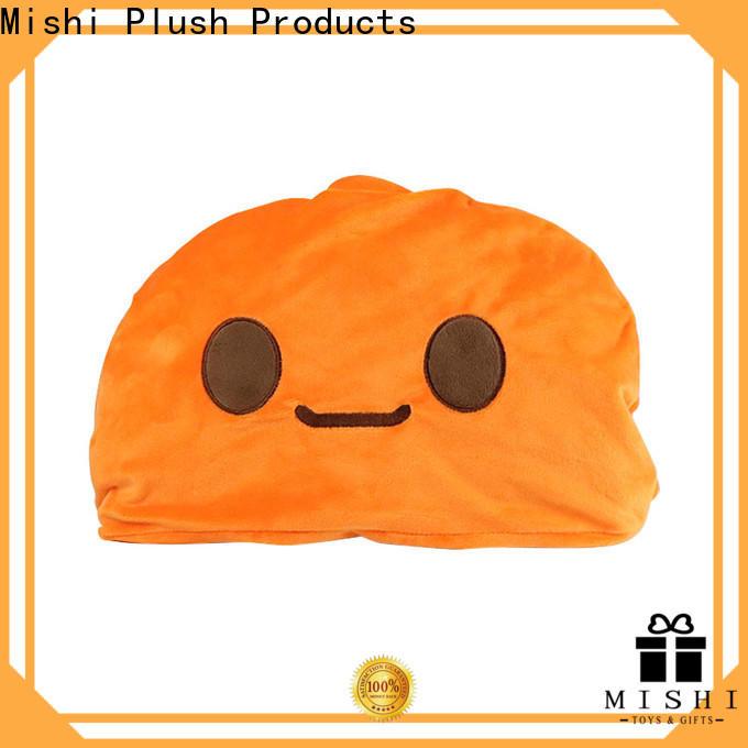 Mishi hot sale super soft plush blanket supply for home