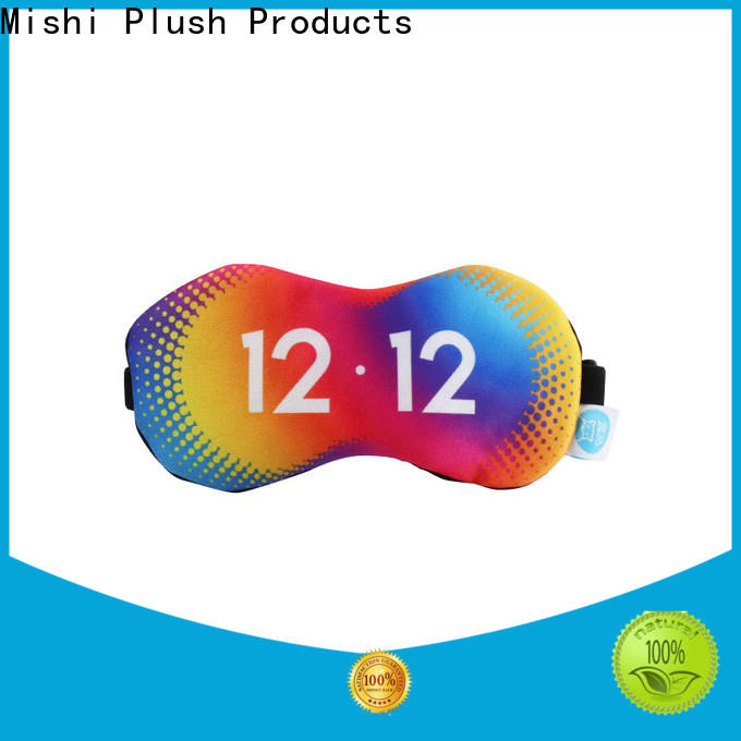 Mishi eye cover with logo for gifts