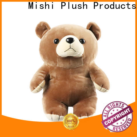 Mishi cheap plush toys manufacturers for business