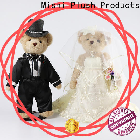 Mishi corgi plush toys wholesale with custom logo for presents