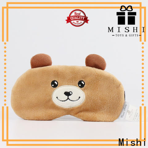 Mishi eye cover with custom printing for presents