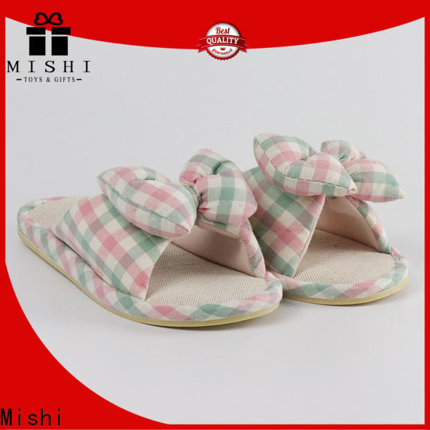 Mishi plush indoor slippers suppliers for business