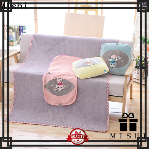 Mishi best plush blanket company for gifts