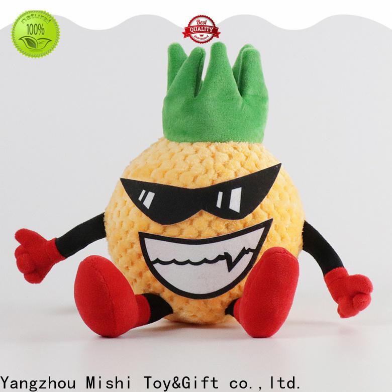 Mishi custom plush toys supply for kids