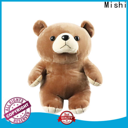 Mishi best plush toys with custom logo for gifts