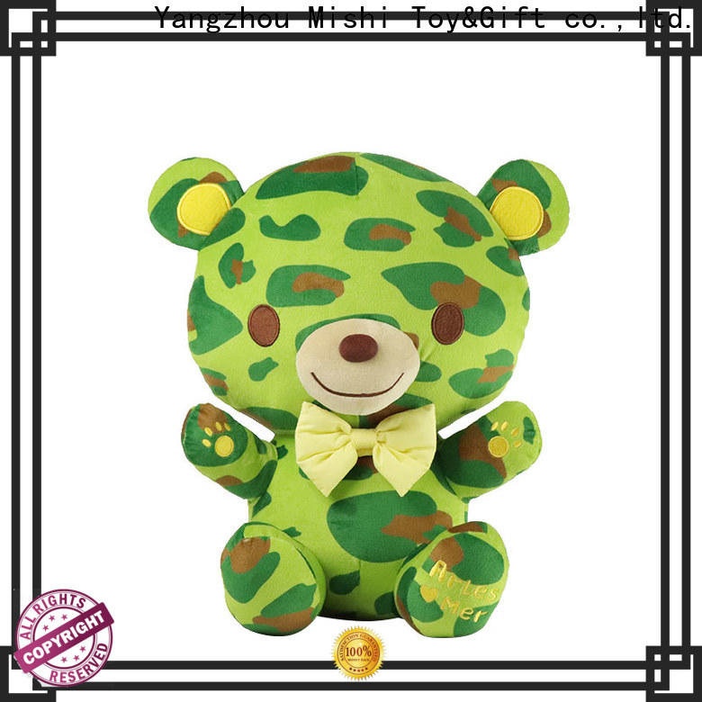 Mishi custom plush toy with t shirts for kids
